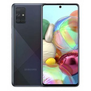 Galaxy A71 Black